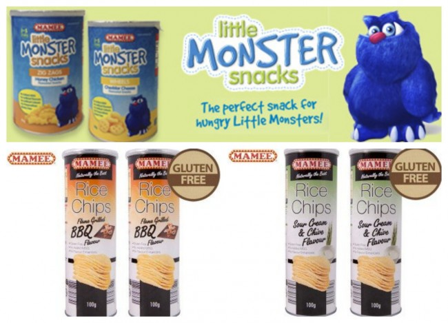 Mamee Monster Snacks