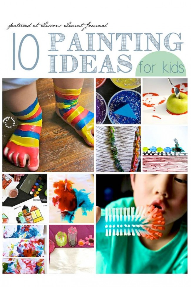 Painting Ideas for Kids via Lessons Learnt Journal (1)