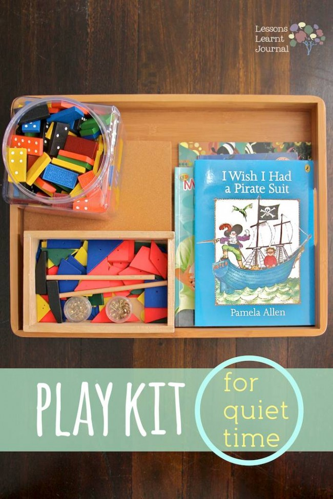 Play Kit for Quiet Time Dominoes Hammering via Lessons Learnt Journal (1)