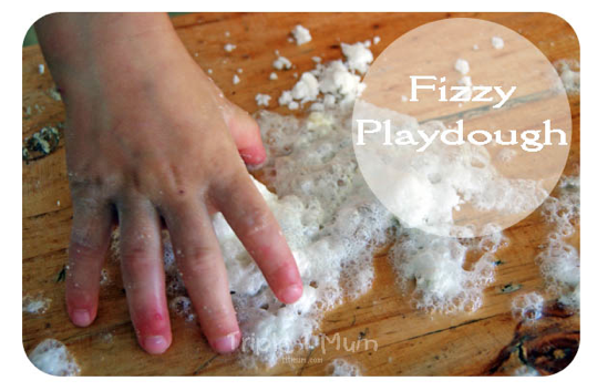 Fizzy Play Dough via TTT Mum
