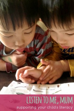 Support Literacy by Listening via Childhood101
