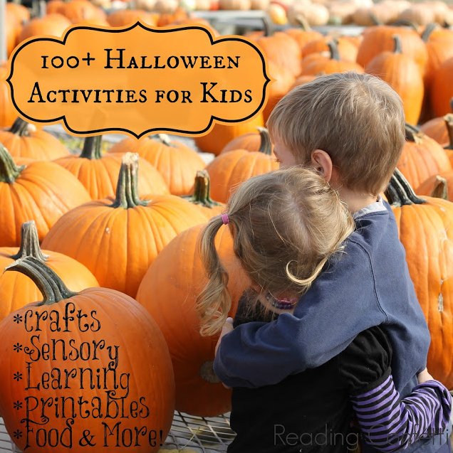 100+ Halloween Activities for Kids via Reading Confetti