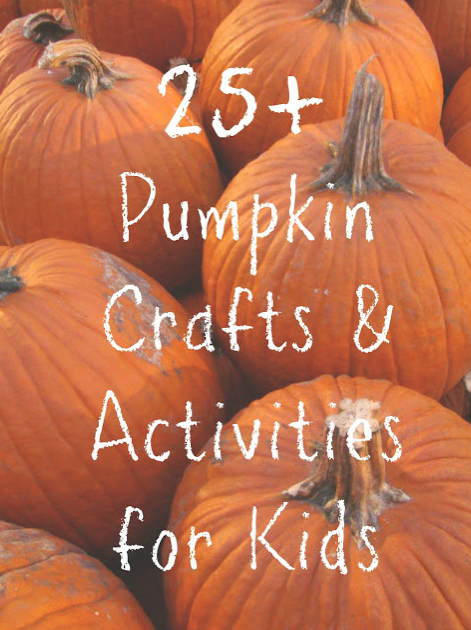 25 Pumpkin Crafts and Activities for Kids via Reading Confetti