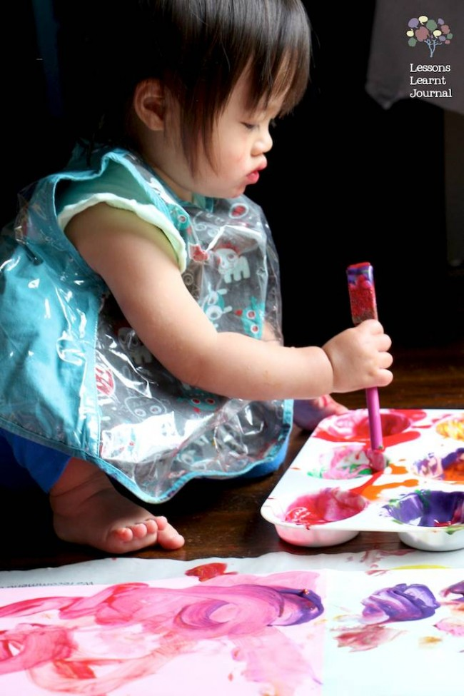 Art Projects for Kids Large Scale Painting via Lessons Learnt Journal 04