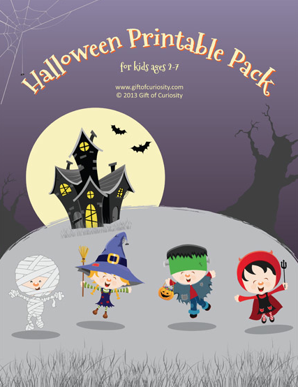 Halloween Printable Pack via Gift of Curiosity