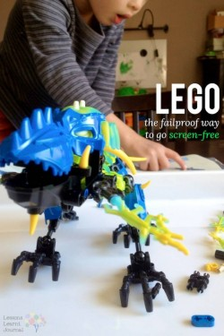 Lego failproof way to go screen free