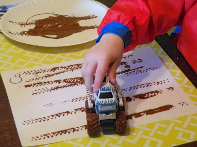 Truck Track Printing via Everyday For Them