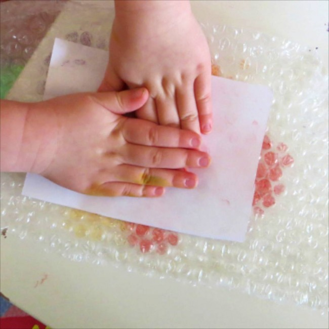 Bubble Wrap Printing via Octavia and Vicky