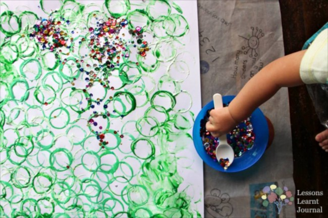Christmas Activities for Kids- Playful Toddler Art via Lessons Learnt Journal 03