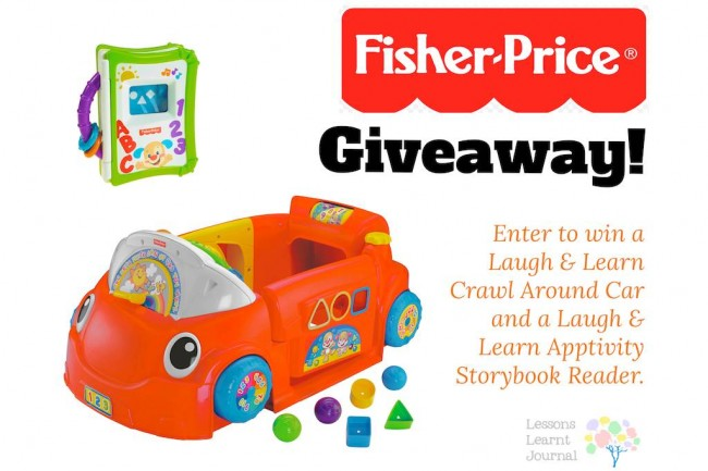 Fisher Price Laugh and Learn Crawl Around Car Giveaway via Lessons Learnt jOURNAL