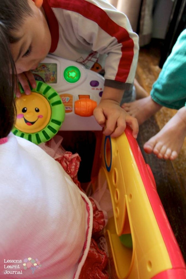 Fisher-Price Laugh and Learn Crawl Around Car review and giveaway via Lessons Learnt Journal 03
