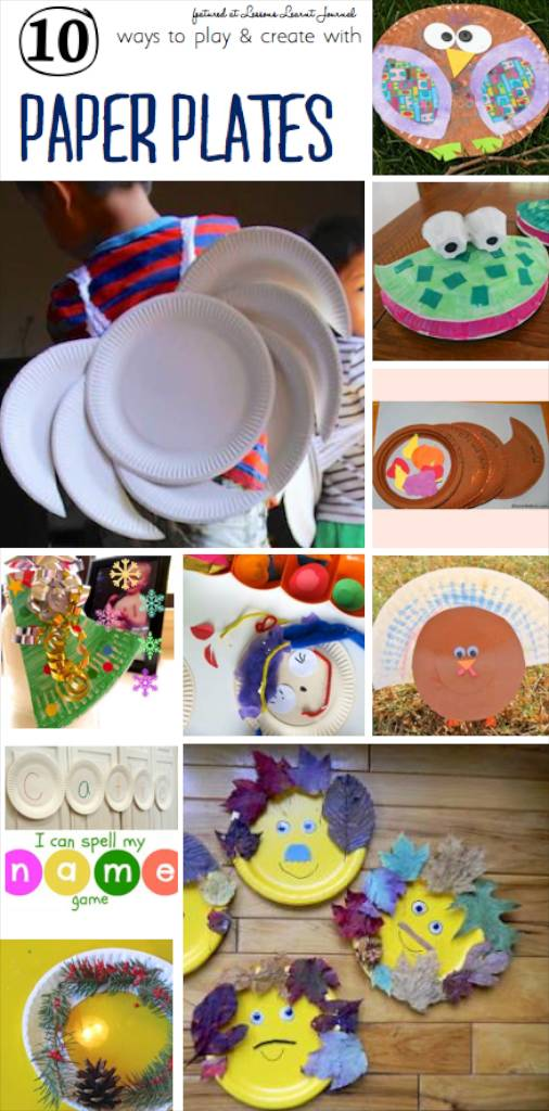 Paper Plates Play and Create via Lessons Learnt Journal (1)