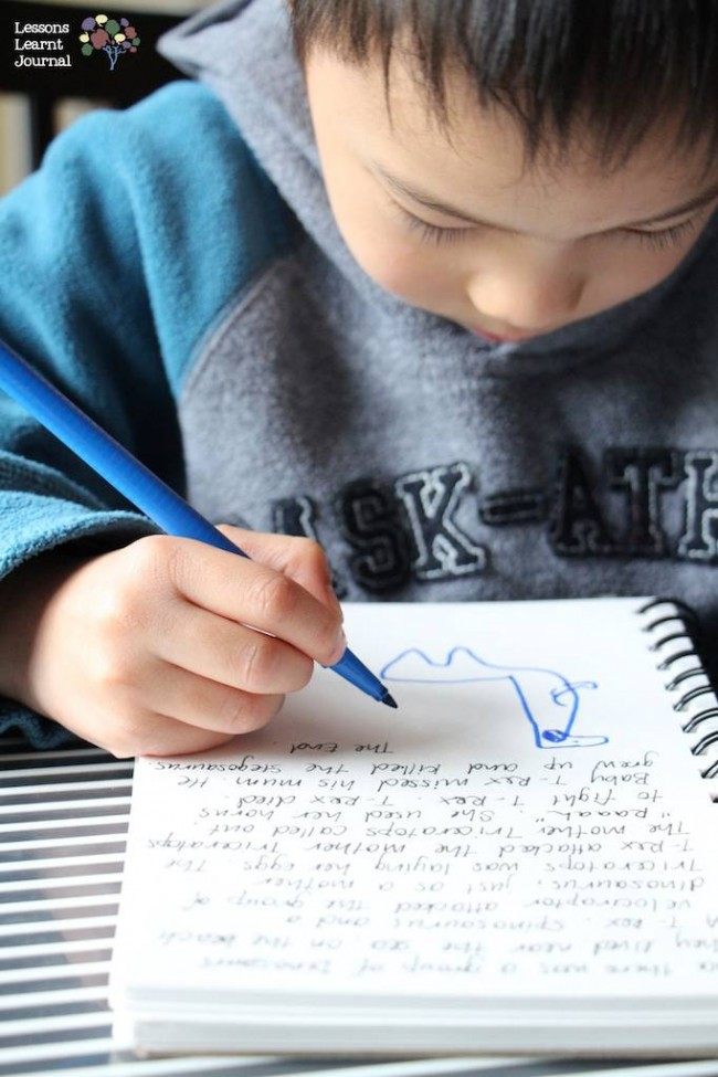 Writing Activities Writing Buddies for Reluctant Writers via Lessons Learnt Journal 02
