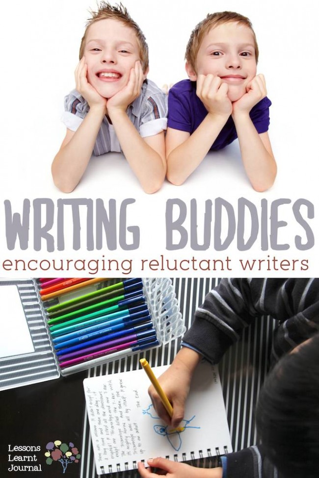Writing Activities Writing Buddies for Reluctant Writers via Lessons Learnt Journal
