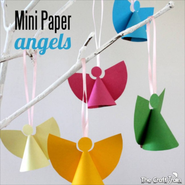 Christmas Crafts Paper Angels : Christmas nativity activities for kids