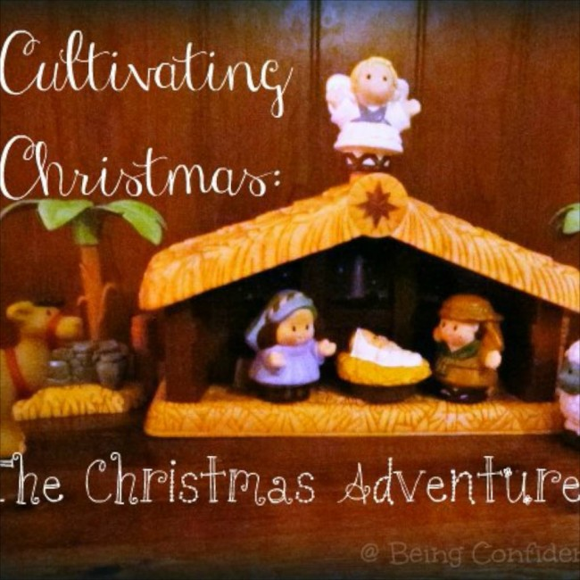 The Christmas Adventure Box via Being Confident of This