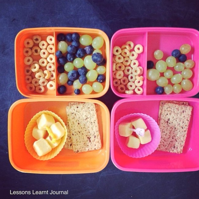 Lunch Ideas Everyday Snacks via Lessons Learnt Journal 02