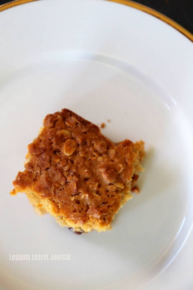 Lunch Ideas Honey Muesli Slices via Lessons Learnt Journal 02