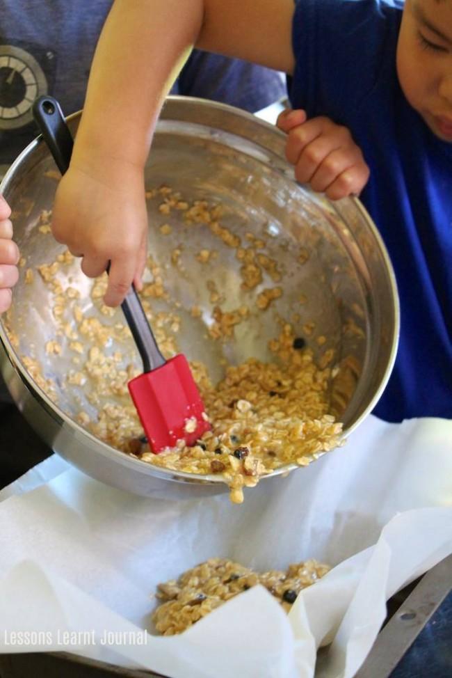 Lunch Ideas Honey Muesli Slices via Lessons Learnt Journal 04