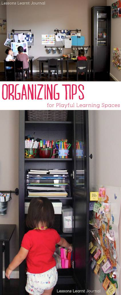 Organizing Tips for Playful Learning Spaces via Lessons Learnt Journal