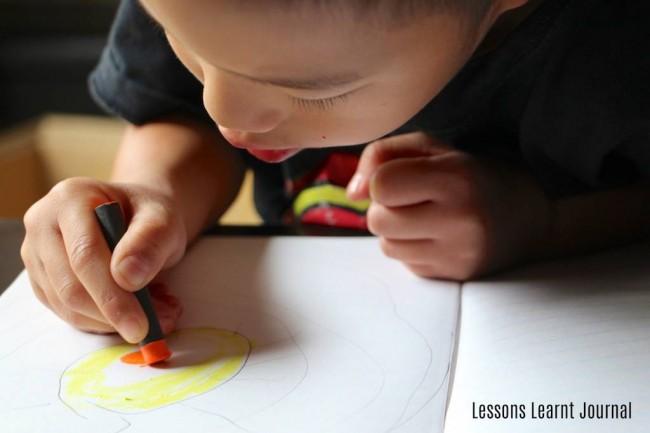 Solar System for Kids via Lessons Learnt Journal 02
