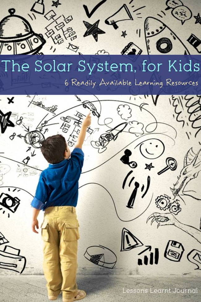 Solar System for Kids via Lessons Learnt Journal