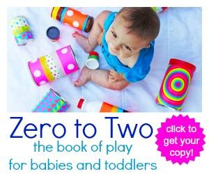 Zero to Two Book of Play for Babies and Toddlers via Lessons Learnt Journal