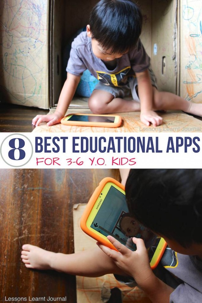 Smart Apps for Kids 3-6 via Lessons Learnt Journal 01
