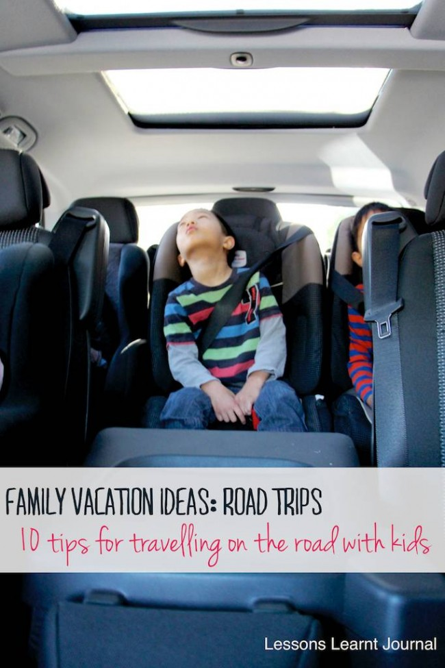 Family Vacation Ideas Road Trips via Lessons Learnt Journal 02