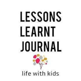 Activities for Children Life With Kids Lessons Learnt Journal