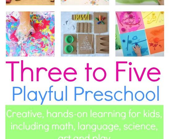 Games for Kids: Three to Five Playful Preschool eBook via Lessons Learnt Journal