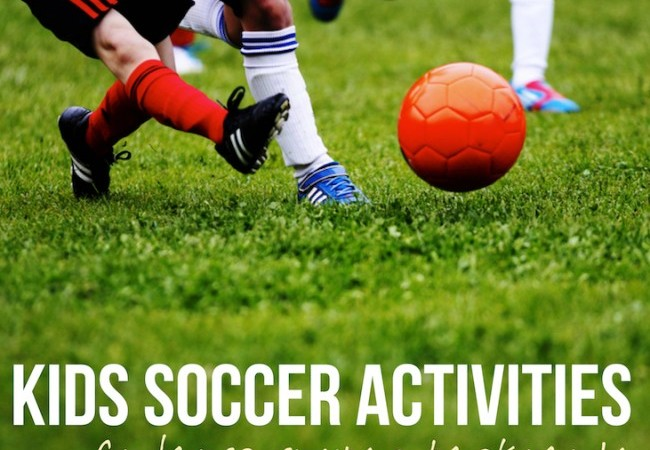 Healthy Kids Soccer Activities For Kids via Lessons Learnt Journal