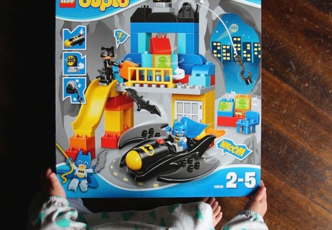 LEGO DUPLO Batcave Adventure Review and Giveaway via Lessons Learnt Journal