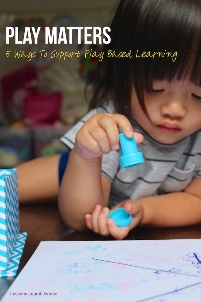 Playmatters Supporting Play Based Learning via Lessons Learnt Journal 06