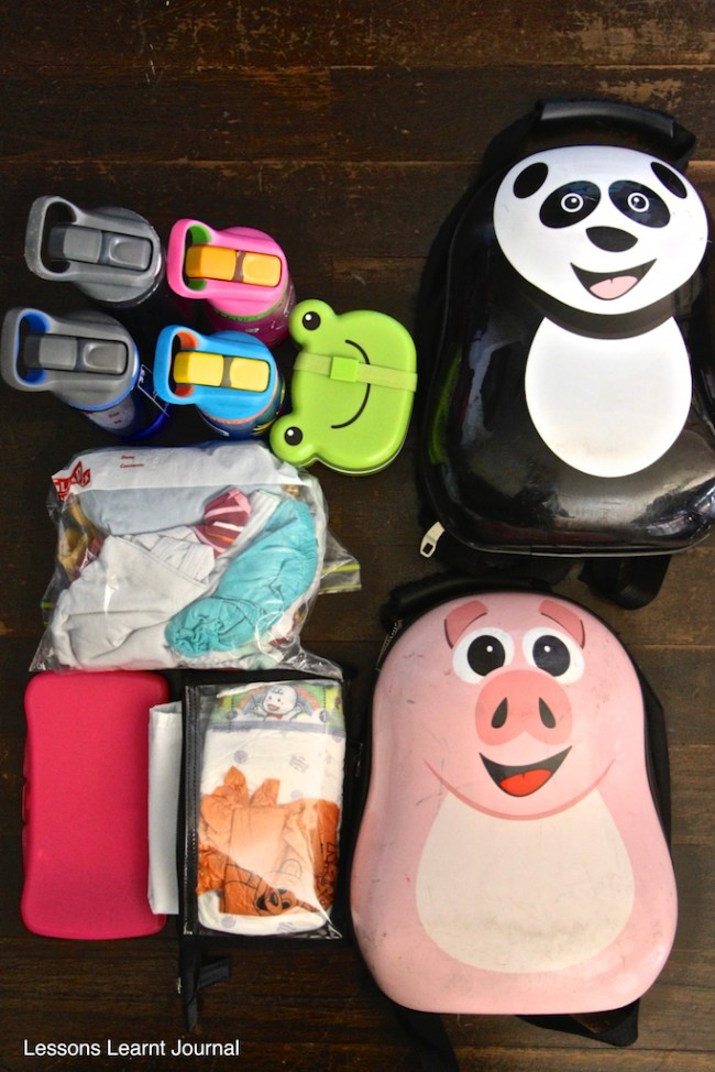 What to pack in a diaper bag 03 via Lessons Learnt Journal